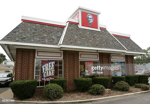 The exterior of a cigarettesmokefree KFC restaurant is seen August 15 2005 in Chicago Illinois Louisville Kentuckybased Yum Brands' companyowned 1200...