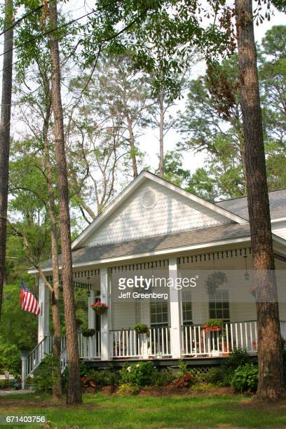The exterior of a house in Abita Springs