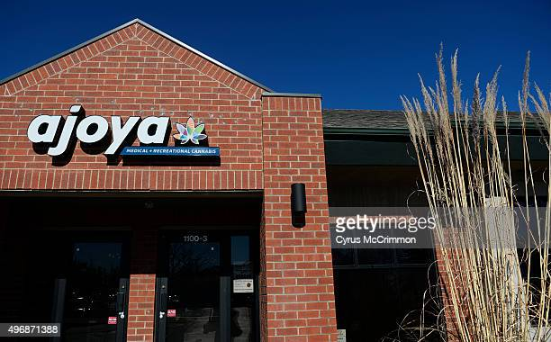 The exterior of Ajoya a new marijuana dispensary in Louisville CO It's interior design offers a new retail experience for shoppers The interior...