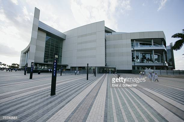The exterior of BankAtlantic Center is shown before the Boston Bruins game against the Florida Panthers at BankAtlantic Center on October 6, 2006 in...