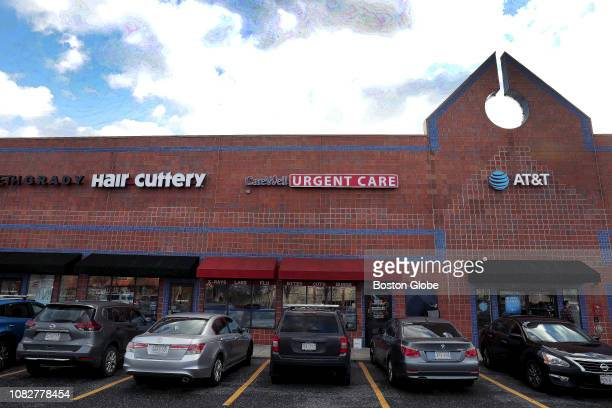 The exterior of Carewell Urgent Care in Framingham MA is pictured on Jan 3 2019 Urgent care centers walkin clinics that treat a range of pressing...