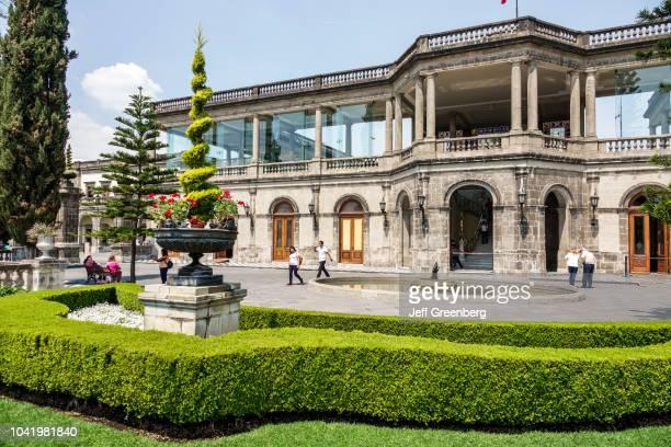The exterior of Castillo de Chapultepec Castle