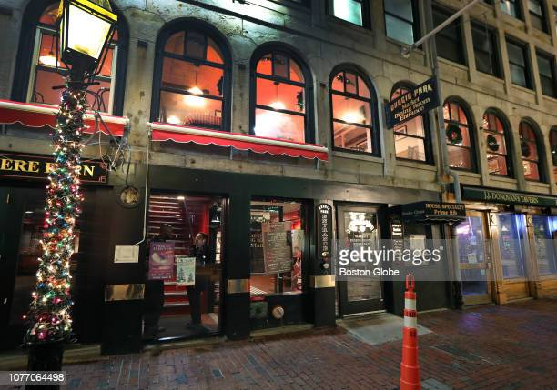 The exterior of DurginPark restaurant in Boston is pictured on Jan 3 2019 DurginPark a centuriesold Boston landmark that has long attracted tourists...