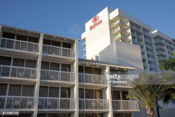 The exterior of Hilton Fort Lauderdale Marina