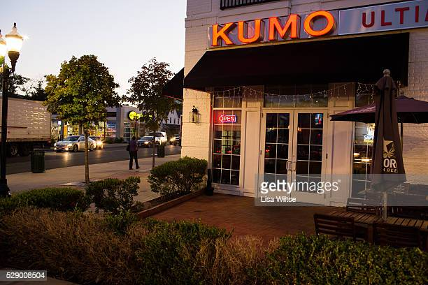 The exterior of Kumo Restaurant in Stamford, Connecticut. Photo by Lisa Wiltse for the New York Times