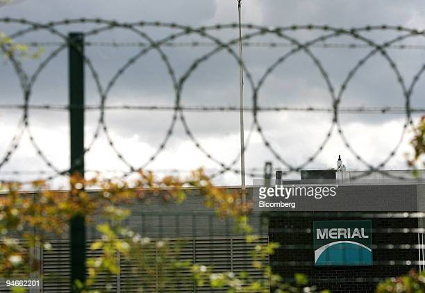 The exterior of Merial Animal Health ltd at Pirbright Surrey UK on Monday Aug 6 2007 The UK government extended its investigation into a vaccine...
