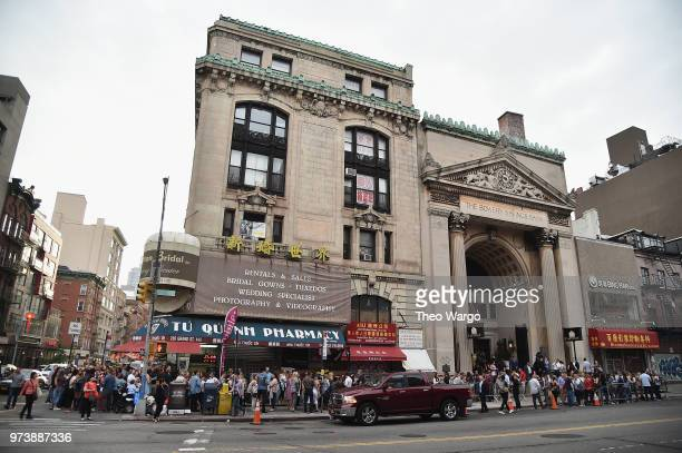 The exterior of Pandora Up Close With Dierks Bentley Sponsored By Southwest on June 13 2018 in New York City