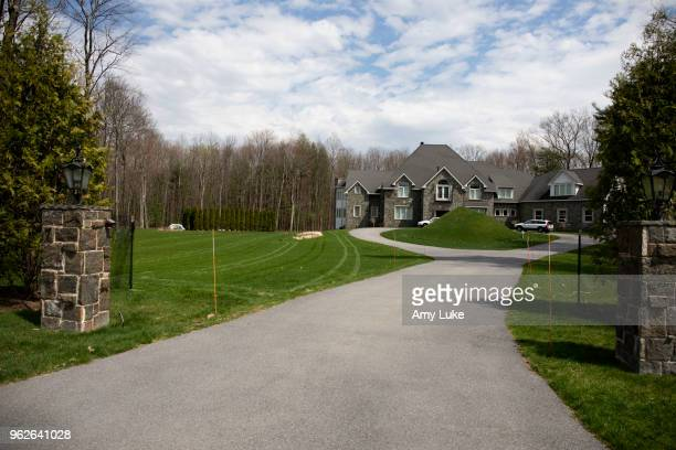 The exterior of Sara Bronfman's home at 7 Taymor Trail in Clifton Park New York on Thursday May 3 2018 Seagram heiresses Sara Bronfman and her sister...