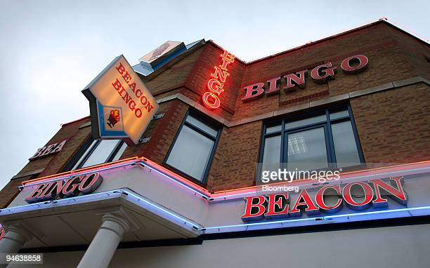 The exterior of the Beacon Bingo hall is seen in Cricklewood Broadway north London on Wednesday December 13 2006 Bingo parlors once the realm of...