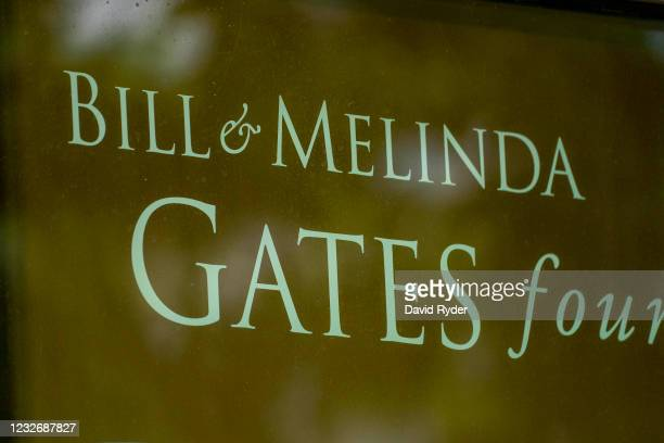 The exterior of the Bill and Melinda Gates Foundation is seen on May 4, 2021 in Seattle, Washington. Bill Gates and Melinda Gates announced their...