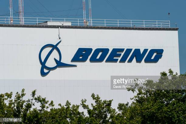 The exterior of the Boeing facility is shown at Boeing Field on July 28, 2020 in Seattle, Washington. Reports say Boeing will delay the all-new 777X...