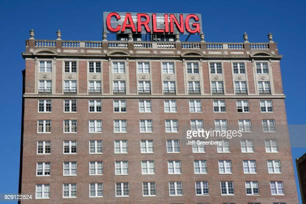 The exterior of the Carling Hotel