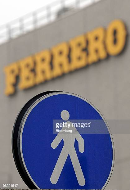 The exterior of the Ferrero SpA factory is seen in Pozzuolo Martesana near Milan Italy on Thursday Nov 19 2009 Michele Ferrero sold his first batch...