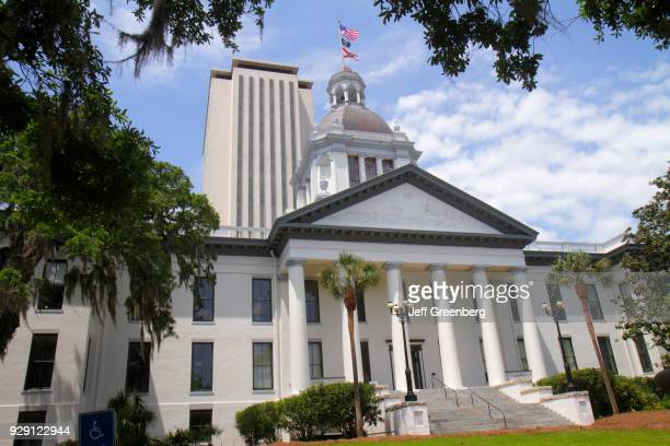 The exterior of the Florida State Capitol museum.