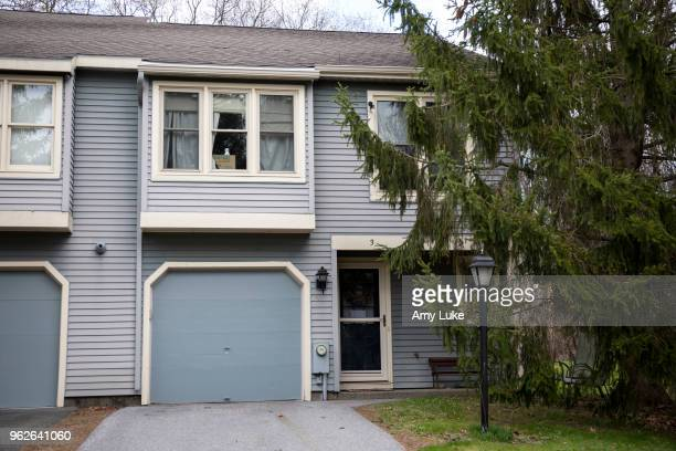 The exterior of the former townhome of NXIVM founder Keith Raniere at 3 Flintlock Lane in Clifton Park New York on Thursday May 3 2018 Raniere was...