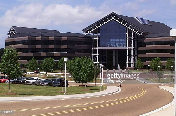 The exterior of the headquarters of telecommunications company WorldCom Inc is seen May 7 2002 in Clinton Mississippi WorldCom the second largest...