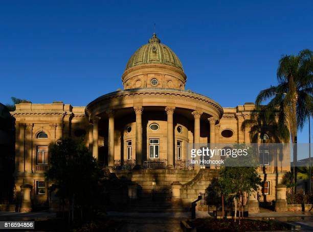 The exterior of the historic customs building is seen on July 12 2017 in Rockhampton Australia