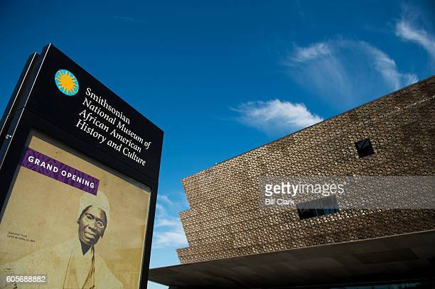 The exterior of the Museum of African American History and Culture as seen during the media preview day on Sept 14 2014 The newest of the Smithsonian...
