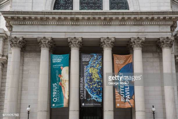 The exterior of the National Museum of Natural History is viewed on June 5 2018 in Washington DC The nation's capital the sixth largest metropolitan...