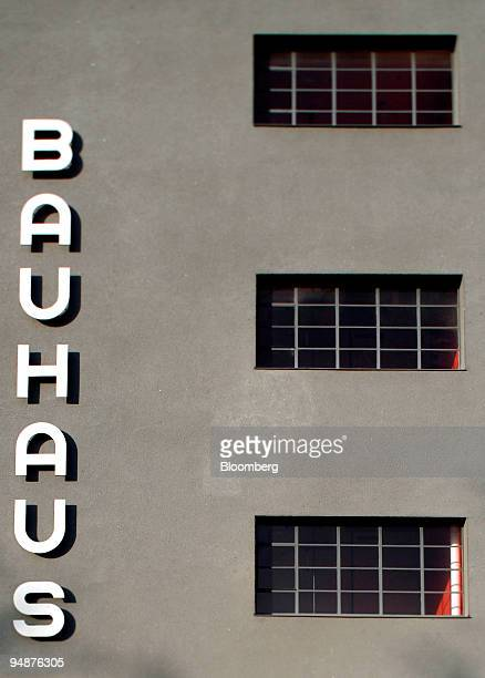 The exterior of the newlyrenovated Bauhaus building is seen in Dessau Germany Friday December 1 2006 The art and architecture school founded by...