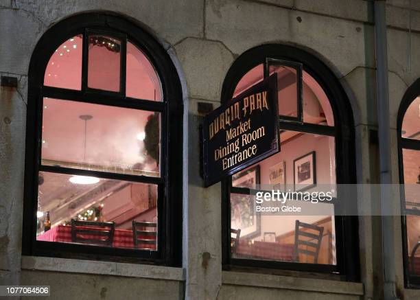 The exterior of the second floor dining room at DurginPark restaurant in Boston is pictured on Jan 3 2019 DurginPark a centuriesold Boston landmark...