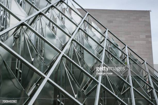 The exterior of the Smithsonian's National Air Space Museum on June 6 2017 in Washington DC The nation's capital the sixth largest metropolitan area...
