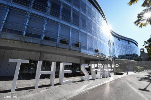 The exterior of The Star casino complex in Pyrmont which will re-open within the next 24 hours on May 31, 2020 in Sydney, Australia. Restrictions...