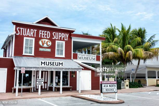The exterior of the Stuart Heritage Museum.