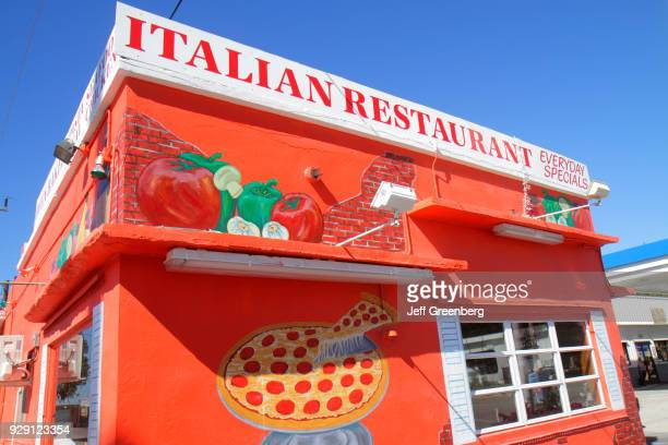 The exterior of the Tower of Pizza Italian Restaurant