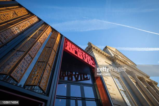 The exterior of the two-year multi-million pound redevelopment of the Bristol Old Vic, the oldest working theatre in the English-speaking world is...