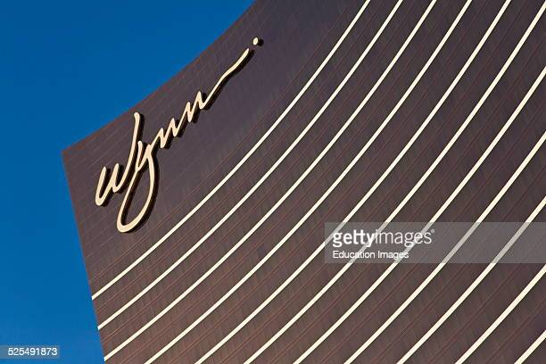 The Exterior Of The Wynn Hotel And Casino, Las Vegas, Nevada .