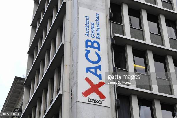 The exterior of the X Base hostel on December 06 2018 in Auckland New Zealand Police are investigating the disappearance of 22yearold British woman...