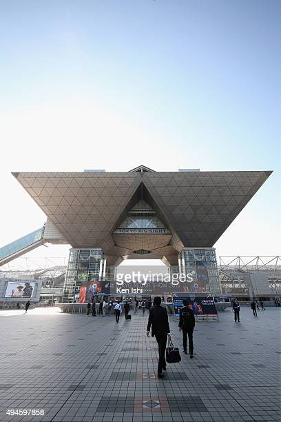 The exterior view at the Tokyo Motor Show 2015 at Tokyo Big Sight on October 28 2015 in Tokyo Japan