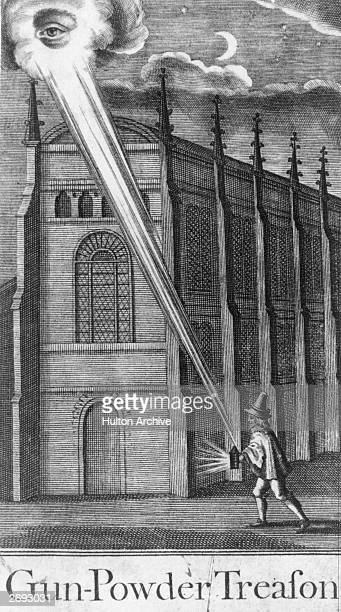 The Eye of Heaven condemns Guy Fawkes the conspirator who was involved in the Gunpowder Plot to blow up the Houses of Parliament in protest against...