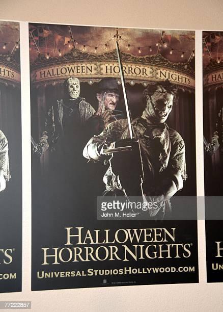 eyegore awards scaremony to kick of halloween horror nights ストック