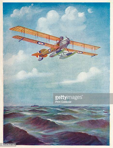 The Eyes of the Fleet: A Short Seaplane' , from 'The Wonder Book of Aircraft for Boys and Girls,' edited by Harry Golding , 1919.