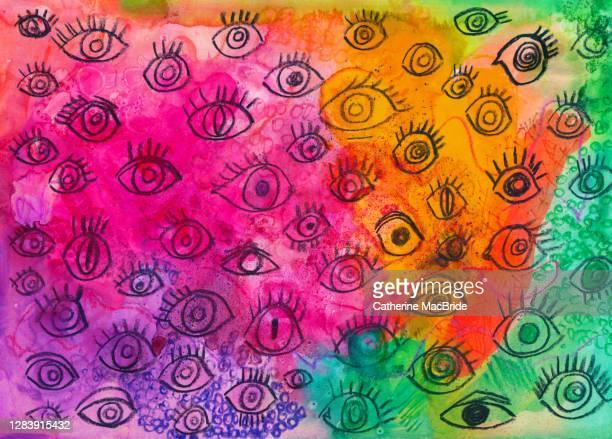 the eyes - catherine macbride stock-fotos und bilder