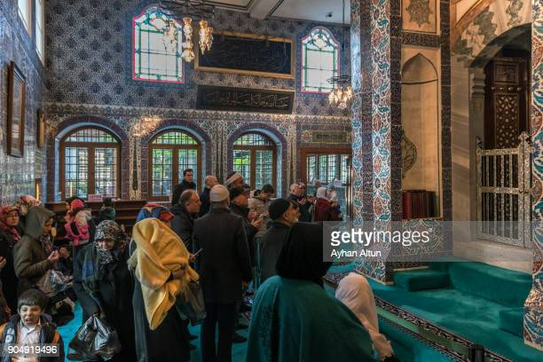 The Eyup Sultan Mausoleum(Abu Ayyub Al-Ansari ), Istanbul, Turkey
