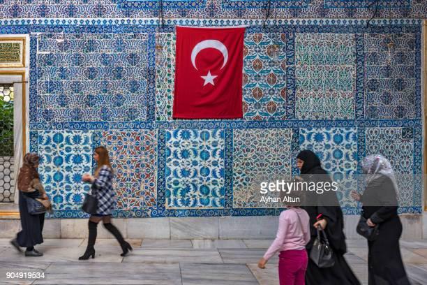 The Eyup Sultan Mausoleum, Istanbul, Turkey