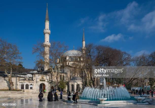 The Eyup Sultan Mosque ,Istanbul,Turkey