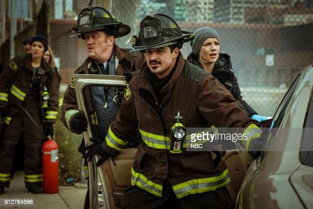 FIRE 'The F is For' Episode 612 Pictured Christian Stolte as Mouch Yuri Sardarov as Otis Kara Killmer as Sylvie Brett