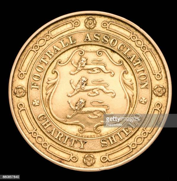 The FA Charity Shield winner's medal awarded to Jesse Pennington of West Bromwich Albion following their 20 victory over Tottenham Hotspur at White...