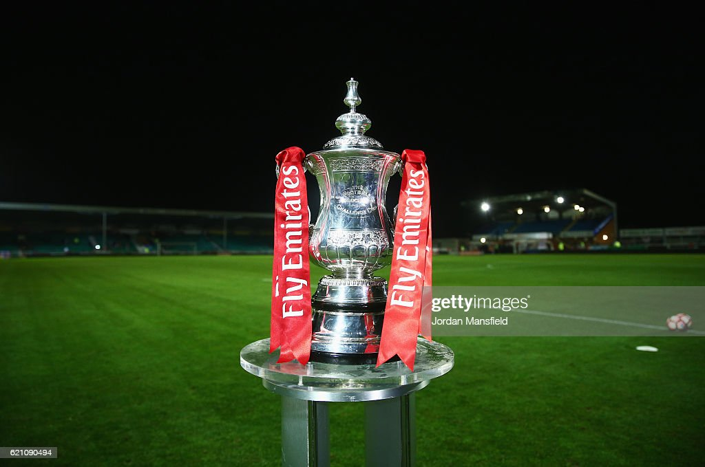 Eastleigh FC v Swindon Town - The Emirates FA Cup First Round : News Photo