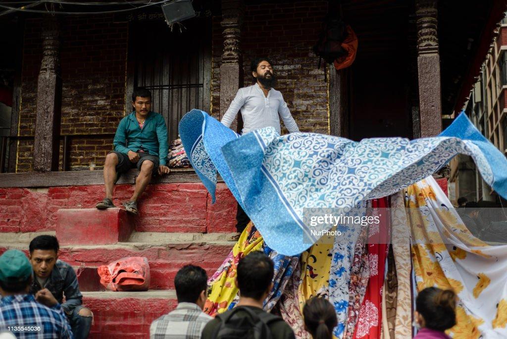 Daily Life In Kathmandu : News Photo