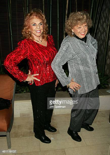 The Fabulous Moolah and The Great Mae Young during 3rd Annual Tribeca Film Festival Lipstick Dynamite Piss Vinegar The First Ladies of Wrestling...