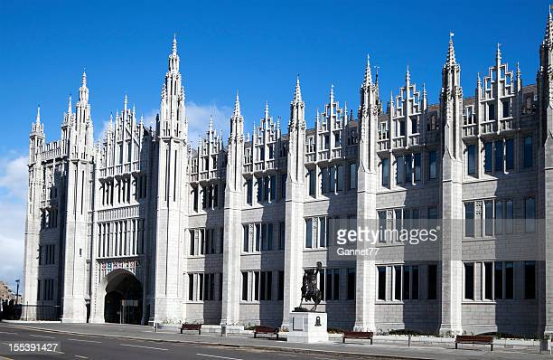 The Facade of Marischal College Building, Aberdeen