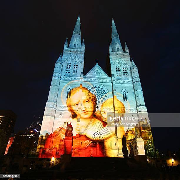 CONTENT] The facade of St Marys Cathedral brings the spirit of Christmas to Sydney with the enchanting light show or light projectionThe projections...