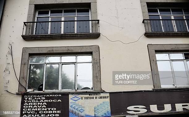 The facade of the Palace Bar in Mexico City is seen on May 10 where Malcolm Shabazz of the US grandson of assassinated AfricanAmerican leader Malcolm...