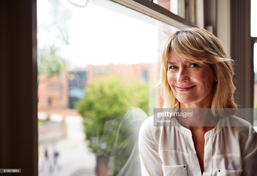 The face of contentment : Stock Photo