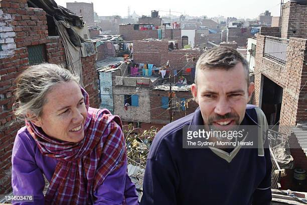 The Face of Poverty India Australians Mark and Cathy Delaney have lived and worked as volunteers in the New Delhi slums for thirteen years Cathy says...